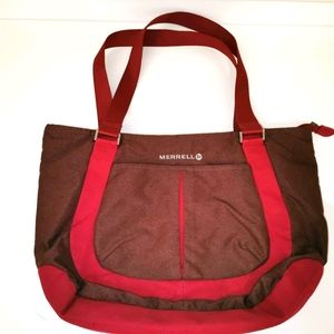 Merrell burgundy shoulder bag